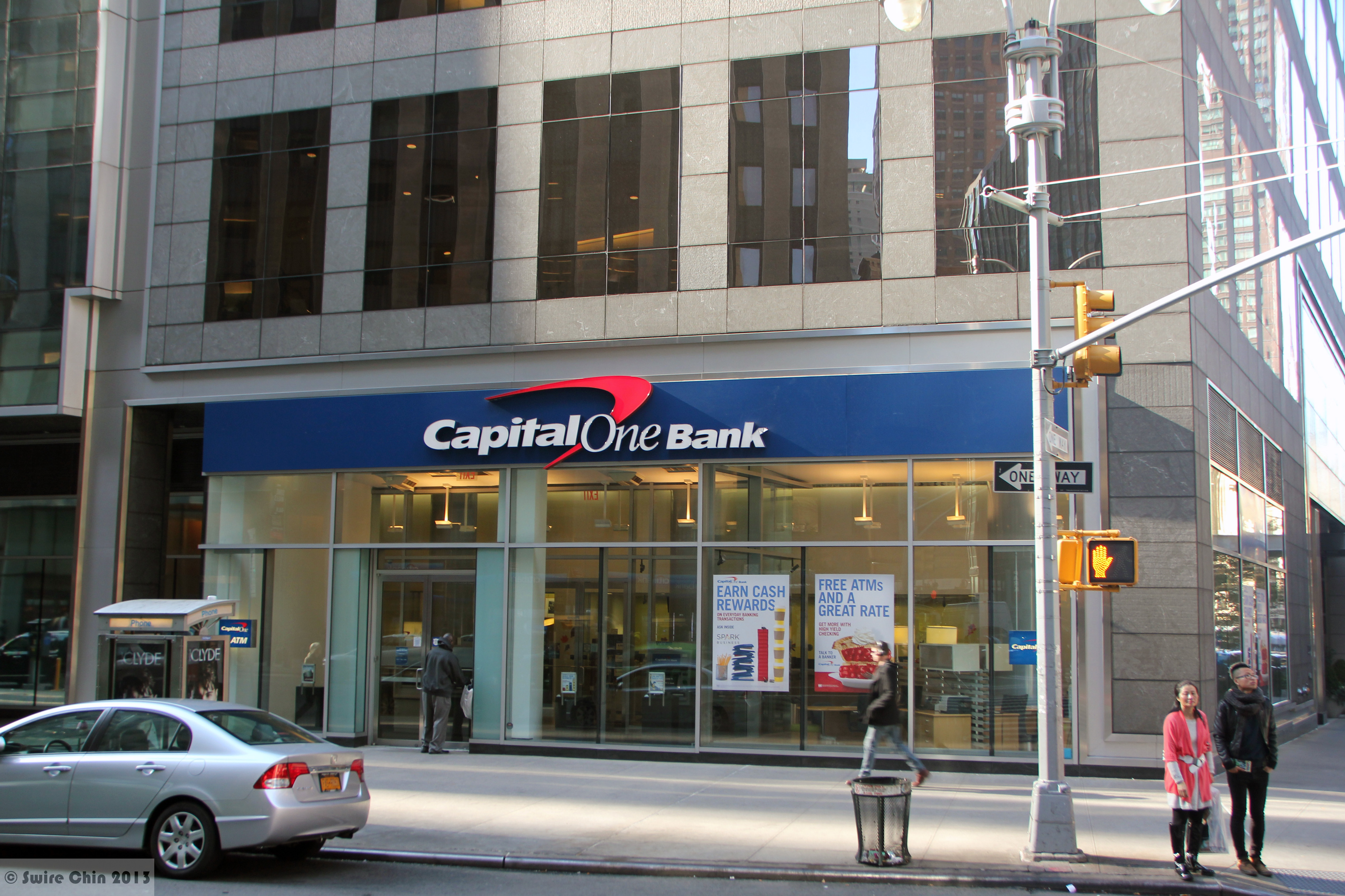 Capital One Joins Clear Exchange