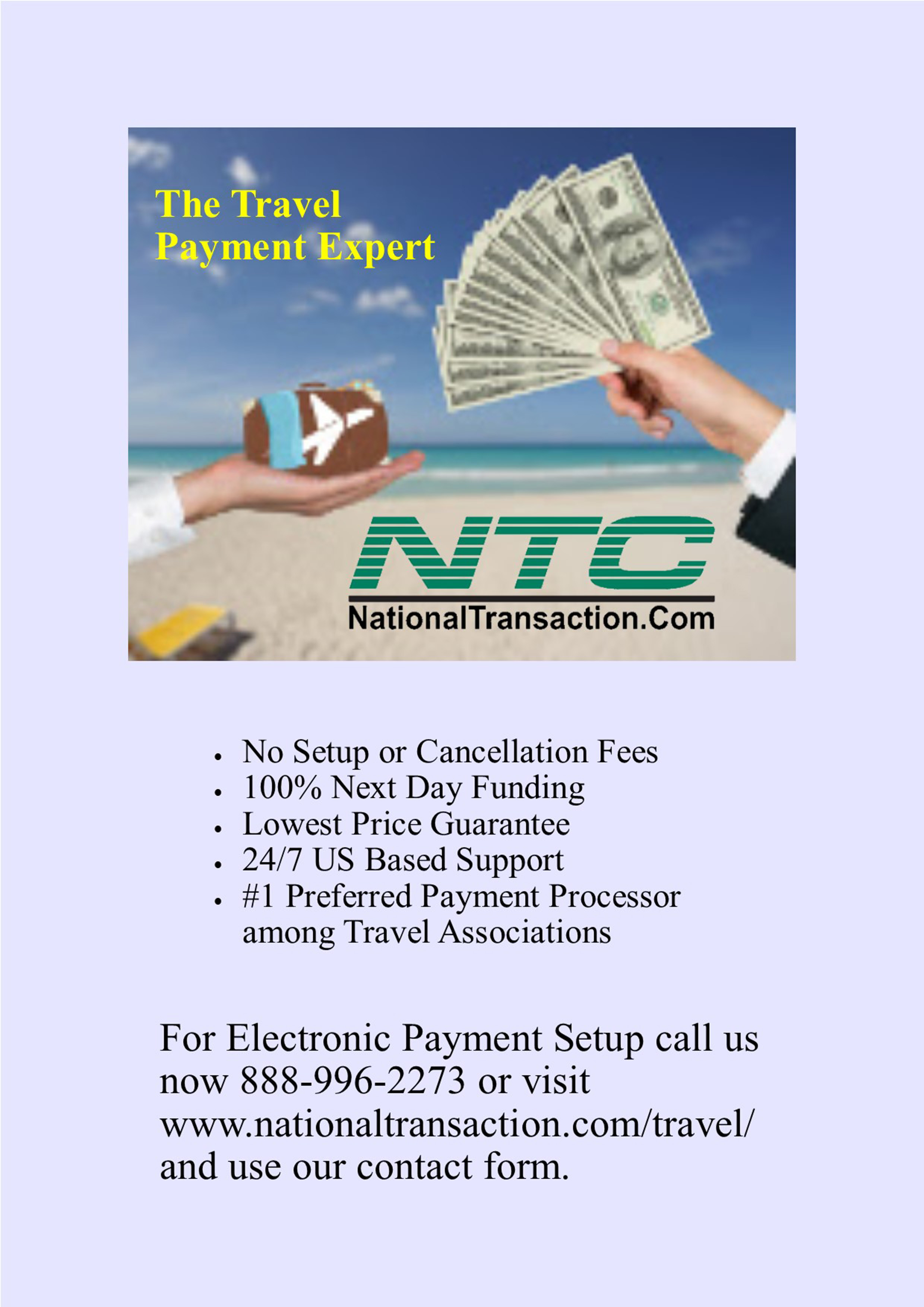 Process Your Travel Agency Payments For Less