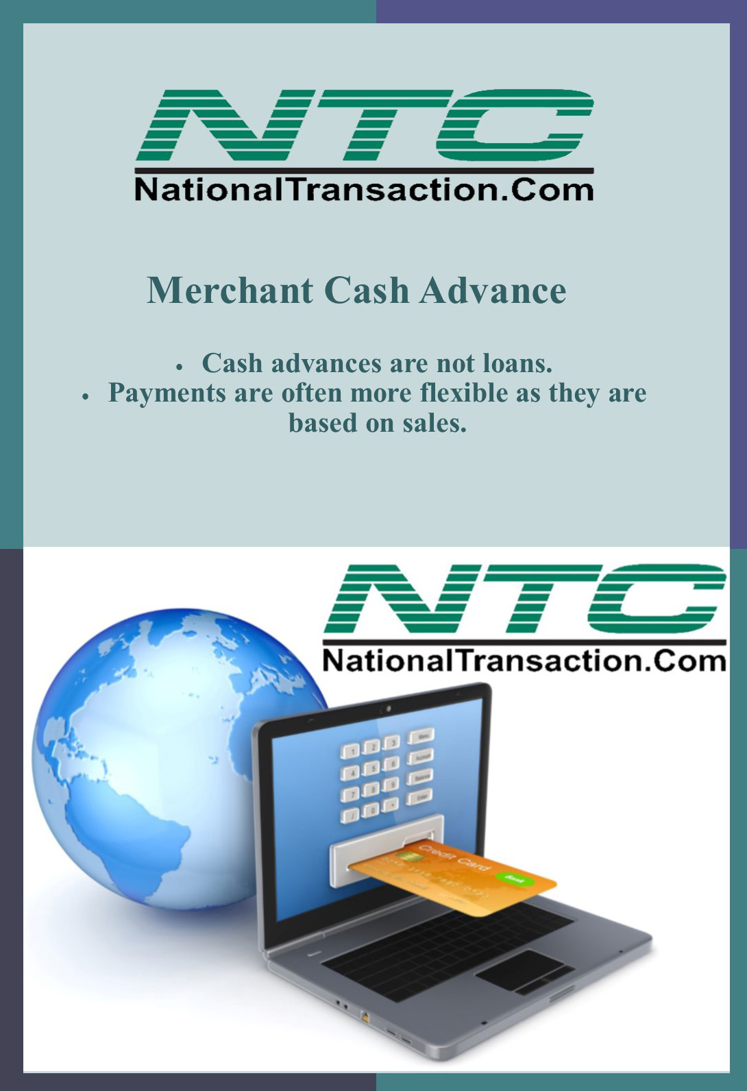 how to pay cash advance on credit card