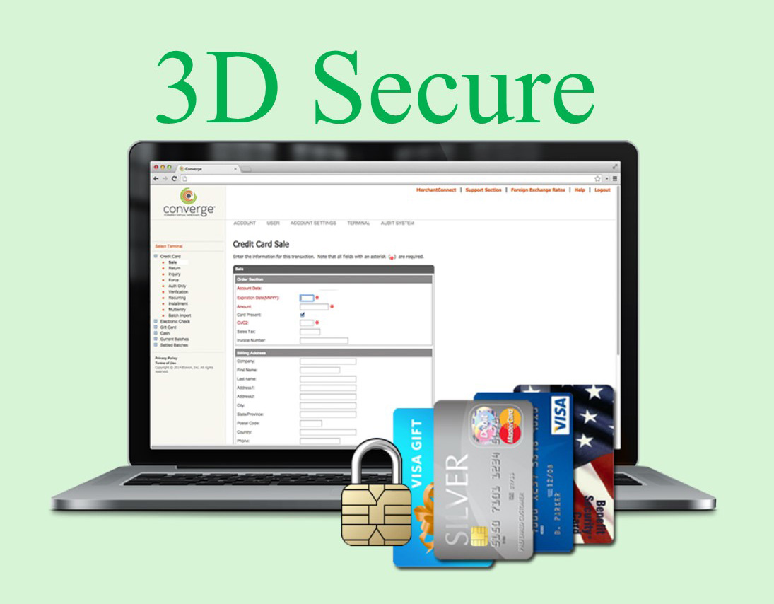 Three Domain Secure (3-D Secure)