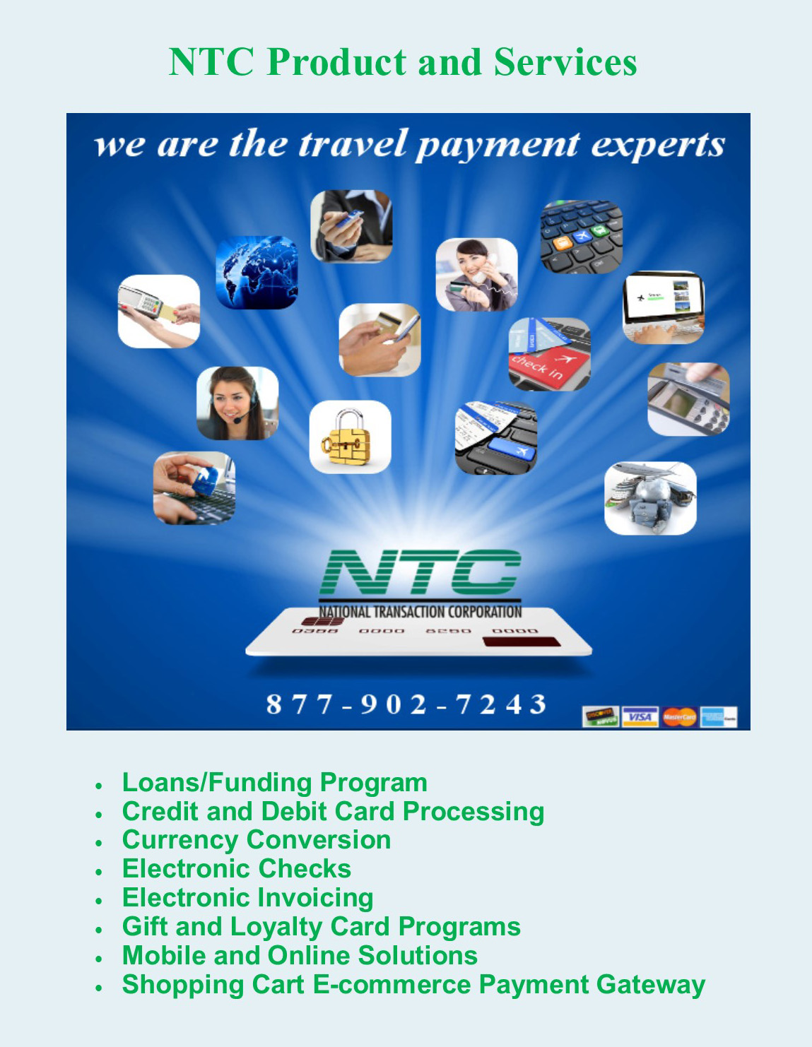 NTC Product and Services