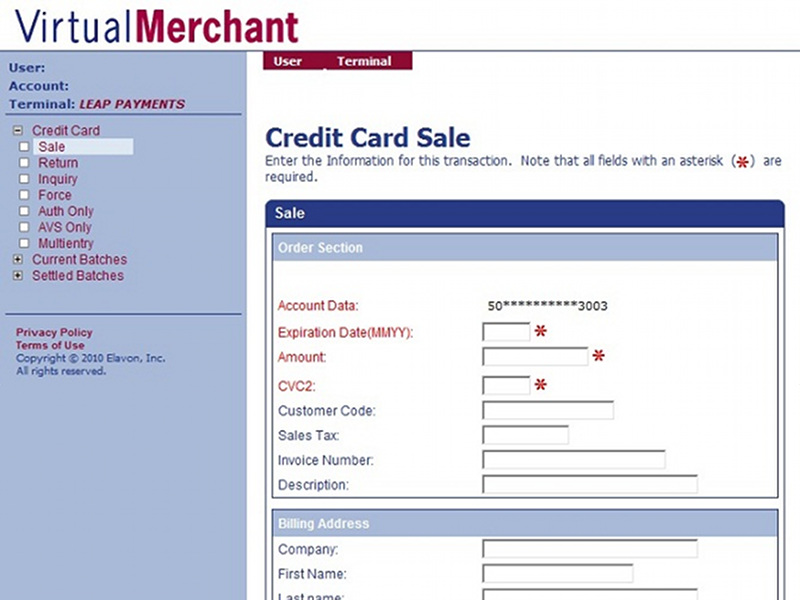 account adult card credit merchant online
